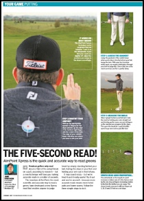 Mail: jamie@aimpointgolf.co.uk?subject=Article Request - The 5 Second Read&body=Dear Jamie, 